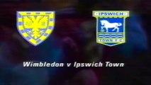 WIMBLEDON FC V IPSWICH TOWN FC - 0-1 - 18TH AUGUST 1992 - SELHURST PARK - LONDON