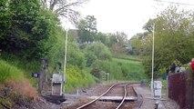 Passage du B 81625/26 au PN 21 à Bellac (klaxon)