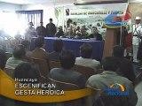ESCENIFICAN GESTA HEROICA - HUANCAYO