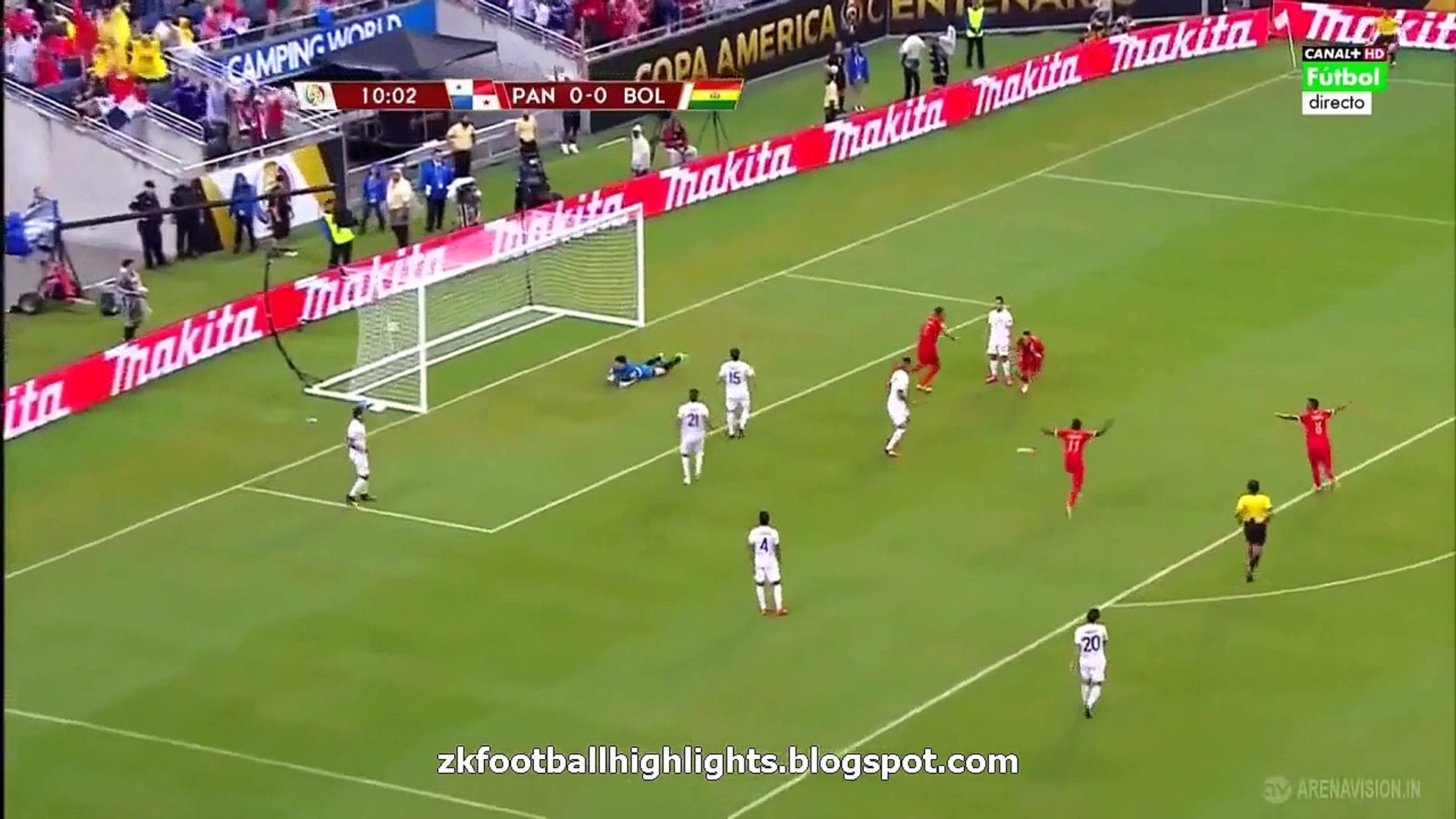 1-0 Blas Pérez Goal HD - Panama vs Bolivia 1-0 COPA AMERICA 06.06.2016 HD