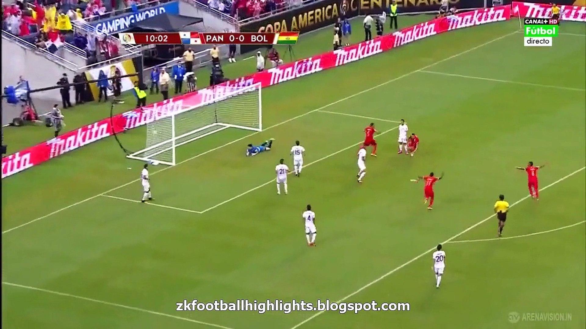 Blas Pérez Goal - Panama vs Bolivia 1-0 COPA AMERICA 06.06.2016 HD