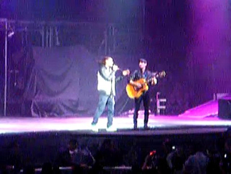 Bluey Robinson, Concert Justin bieber 29/03/11