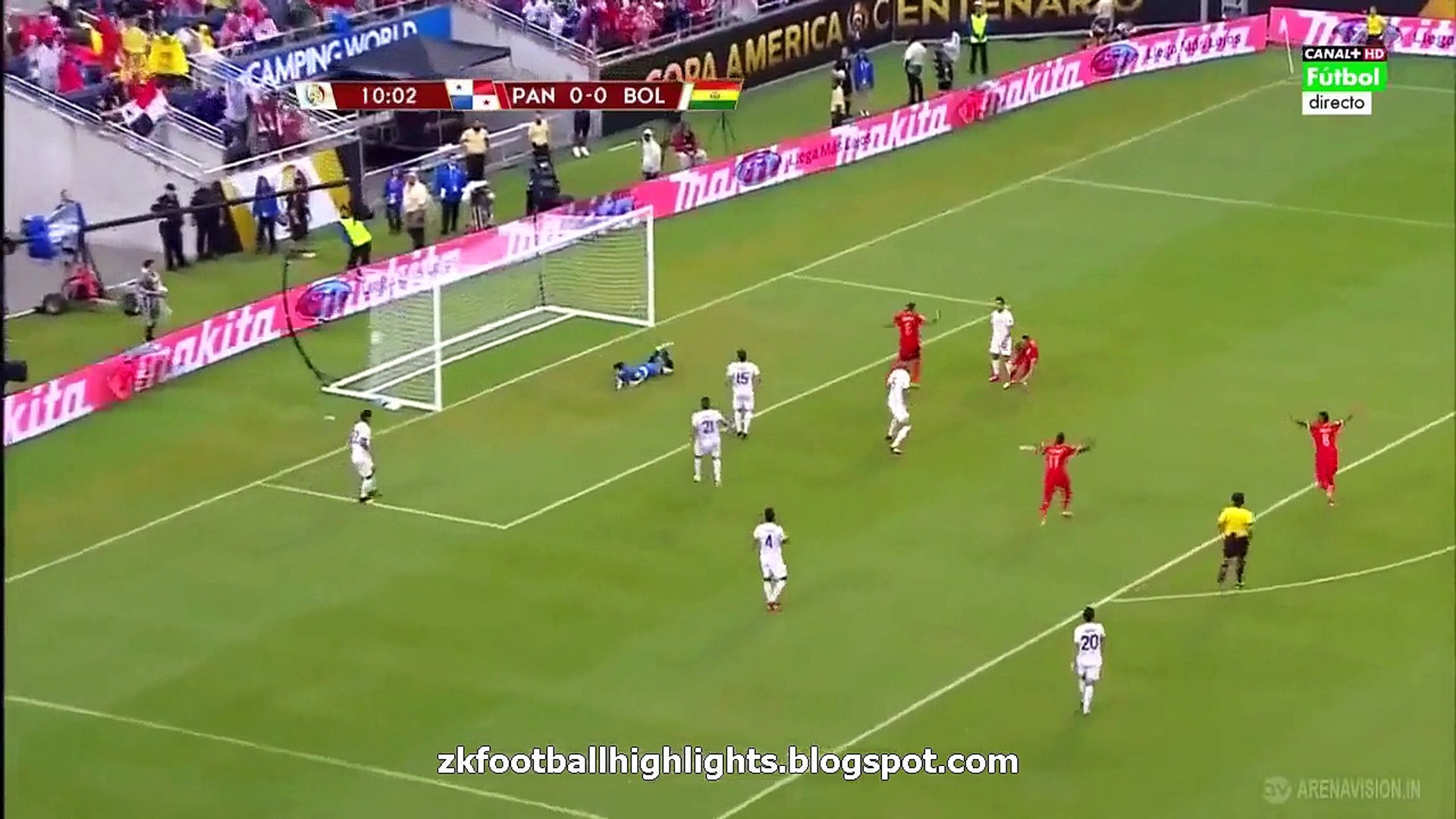 Blas Pérez Goal HD - Panama 1-0 Bolivia  | COPA AMERICA | 06.06.2016 HD