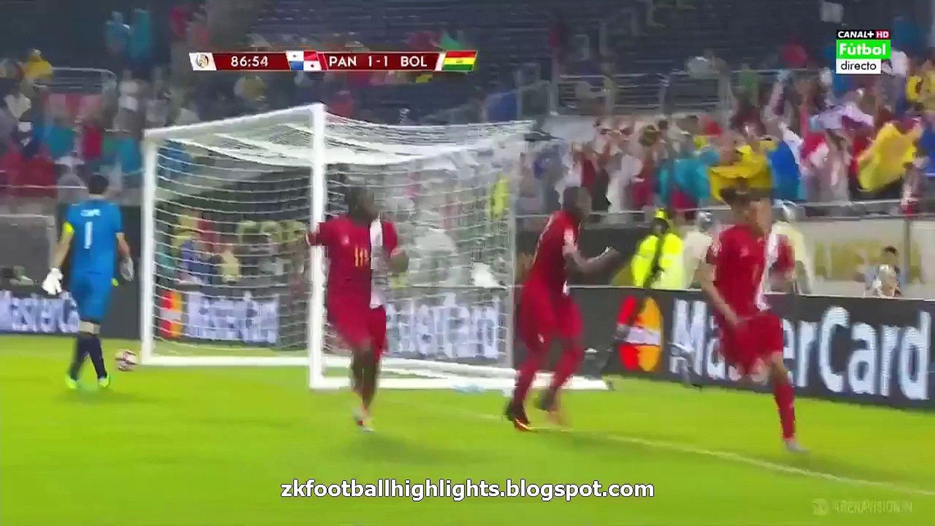 Blas Perez 2:1 Second Goal HD - Panama 2-1 Bolívia 06.06.2016 HD