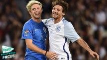 Louis Tomlinson Beats bandmate Niall Horan in Soccer Aid 2016
