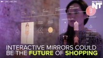 Interactive Mirrors Are The Future Of Shopping