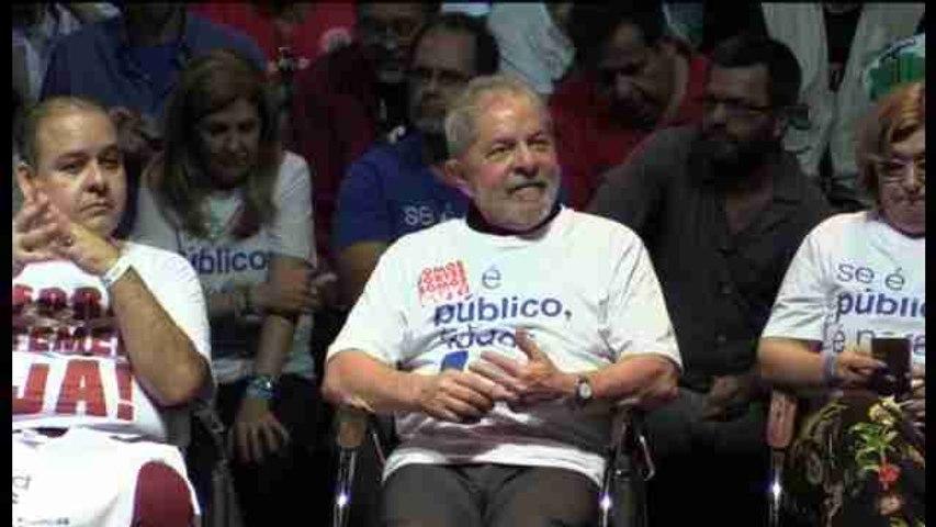 """Lula no tira la toalla pero admite que está en """"edad"""" de jubilarse"""