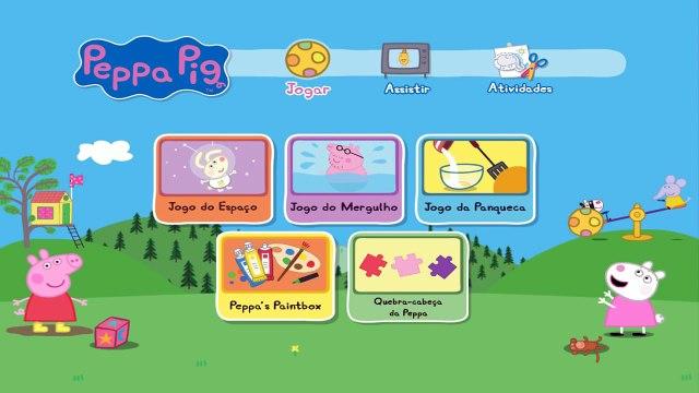 Pig George da Familia Peppa Pig - Joguinho Quebra Cabeça da Peppa ToysKids Peppa Pig