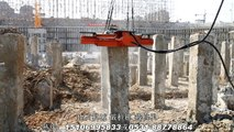 BEIYI hydraulic piling machine square concrete pile