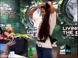 A Foolish Girl in Over the edge Audition To Waqar Zaka In Live Show