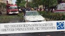 Une bombe explose dans le centre d'Istanbul en Turquie