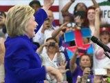 Primaires démocrates: déclarée gagnante, Clinton ne crie pas victoire