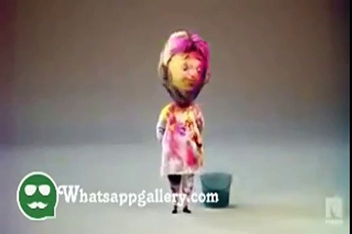 whatsapp funny videos wishing happy holi india