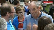 Landerneau. Sport et études : Paul Le Guen partage son expérience avec des collégiens