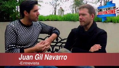 """A solas con Juan Gil Navarro por """"La Casa del Mar"""", 2da temporada"""