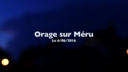 Orage sur Méru 06:06:2016