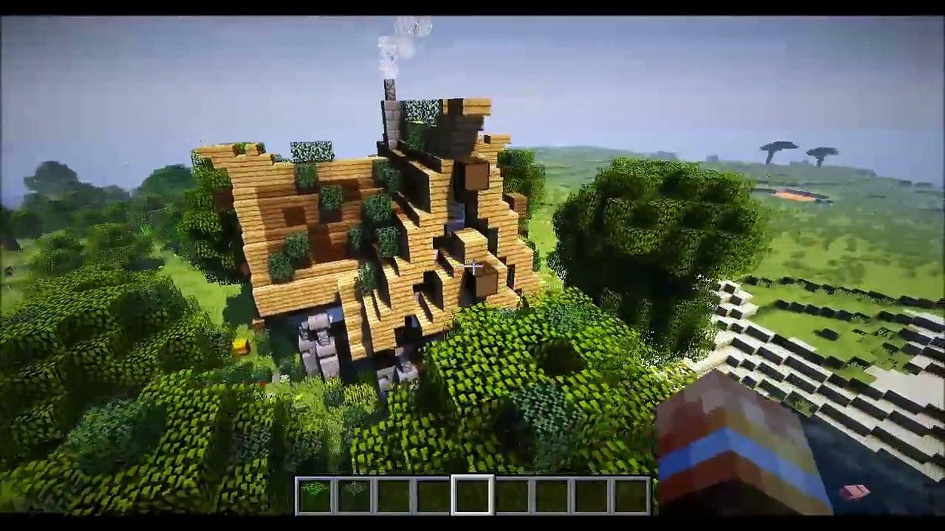 Minecraft Steampunk House Showcase Video Dailymotion