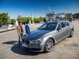 Franck Lagorce au volant de la BMW Série 7 Limousine (diaporama vidéo)