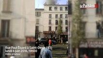 Incendie à Saint-Denis : les premières images