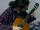 Super Mario Bros. theme on my guitar