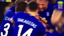 Giannis Maniatis scores a stunner from his own half!