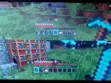 Minecraft na ps 3 Moja siostra gra z moją koleżanką  w minecrafta na ps 3 #01
