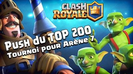 Clash Royale On push le Leaderboard FR & Tournoi pour Kikous !