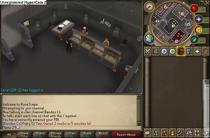 Flame 29 - Runescape - 2nd Bank Vid with Commentary - 210m+ - video  dailymotion
