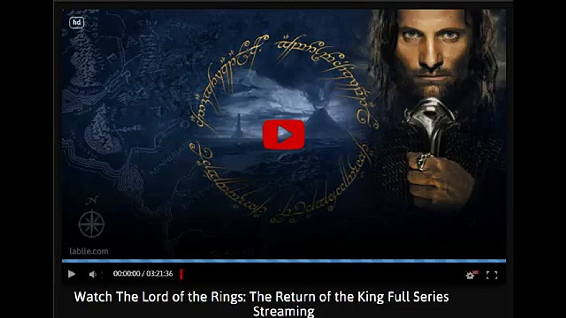 lord of the rings return of the king free stream