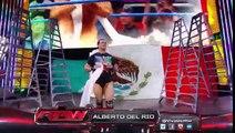 Roman Reigns,John Cena & Sheamus vs Randy Orton,Bray Wyatt & Cesaro,Alberto Del Rio (4 on 3) Full