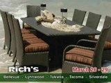 Half Off Every Patio Set at Rich's Through March 29, 2010