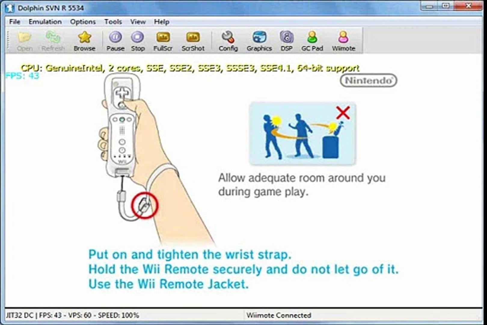 Games Island on Dolphin v2 0 - Nintendo Wii Emulator