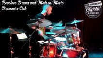 Revolver Drums and Modern Music presents Drummers Club Chad Blaster 25/10/15