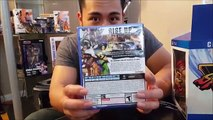 Street Fighter V collectors edition unboxing!!!!!