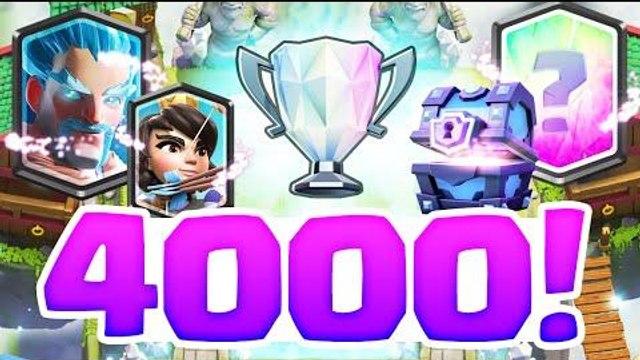 LIVE RUSH 4000 LEGENDE Clash Royale !