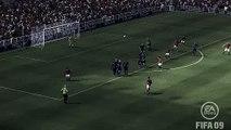FIFA 09 Ronaldo Scissor Kick from 25 yards