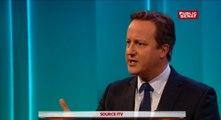 """Cameron : """"On pourra certainement survivre en dehors de l'UE mais la question est de savoir comment créer des emplois, des occasions pour nos enfants, nos petits-enfants"""""""
