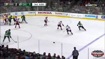 Anaheim Ducks Ryan Getzlaf 669 Career Point Goal against Dallas Stars 3/1/15