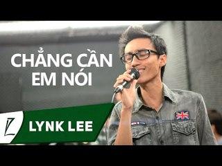 [LIVE] Chẳng cần em nói - Lynk Lee ft Bảo Anh (minishow 27.4.2012)