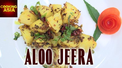 Aloo Jeera | Easy Recipe & Tasty | Cooking Asia