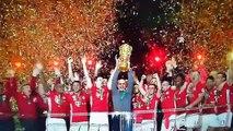 Bayern Munich Trophy Celebration/Presentation ~ Bayern vs Borussia Dortmund 4-3 2016 DFB Pokal Final