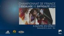 Championnat de France d'escalade de difficulté Senior 2016 - Demi-finales