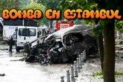 BOMBA en Estambul ,Al menos 11 muertos y 36 heridos tras estallar  al paso de un autobús policial
