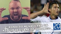 Cristiano Ronaldo menacé par «La Montagne» de Game of Thrones