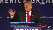 Donald Trump: Absolute Shutdown of Muslims Entering America; Immigration; 12 7 2015