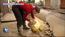Inondations: une coulée de boue fait d'énormes dégâts dans le Bas-Rhin