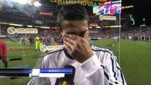 En larmes, Di Maria craque après le match de l'Argentine