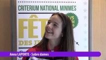 Interview Anna Laporte, vainqueur sabre dame #fdjescrime 2016