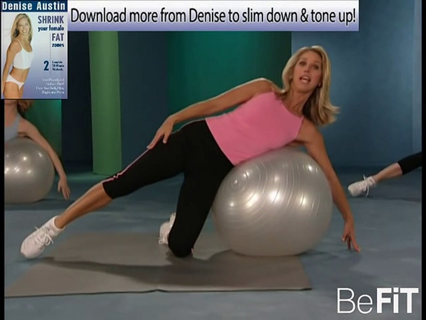 Sexy Abs Weight Loss Stability Ball Workout Denise Austin Video Dailymotion