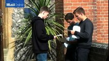 GCSE grades suffer biggest fall for 25 years as Government clamps down on results 'inflation'.